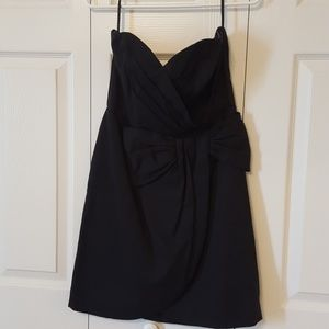 H&M strapless dress with bow design